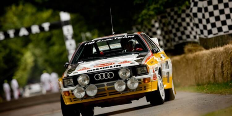 Audi Quattro, 1980 : Sa transmission intégrale prouva sa supériorité en championnat du monde des rallyes