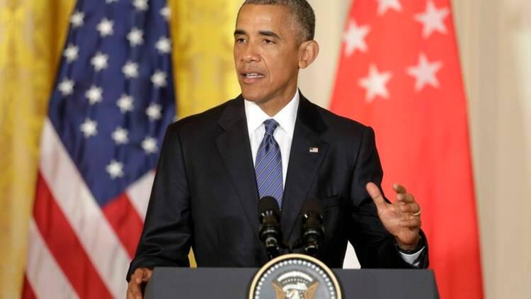 "Barack Obama juge Donald Trump ""indigne"" de devenir président"