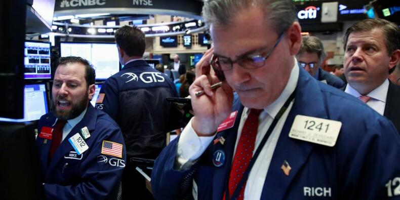 Wall Street soulagée par la Chine et JPMorgan