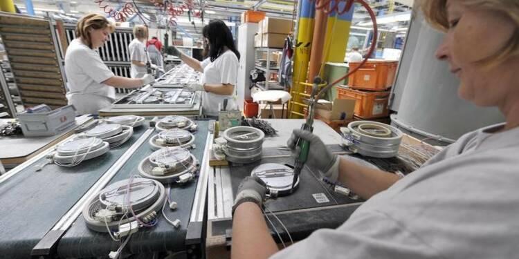 Les prix à la production en repli de 4,1% sur un an en février