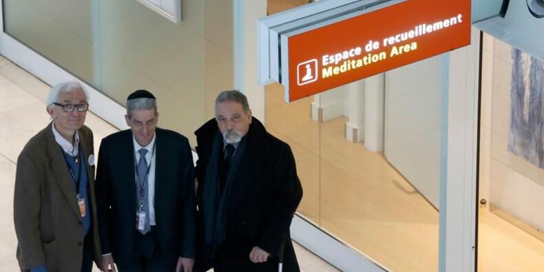 A Roissy, juifs, musulmans et chrétiens prient côte à côte