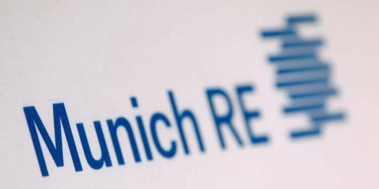 Munich Re confirme ses objectifs 2016 et grimpe en Bourse