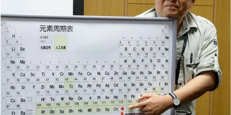 Le premier élément chimique découvert en Asie nommé nihonium