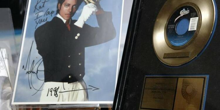"""""""Thriller"""" de Michael Jackson efface la barre des 100 millions"""