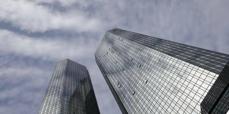 Deutsche Bank prévoit une perte de 6,7 milliards d'euros en 2015