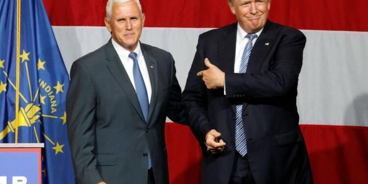 Donald Trump choisit Mike Pence comme colistier