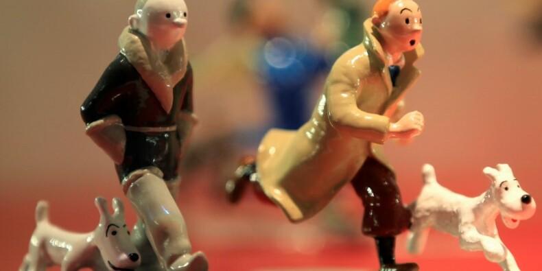 Plus d'un million d'euros pour une planche de Tintin