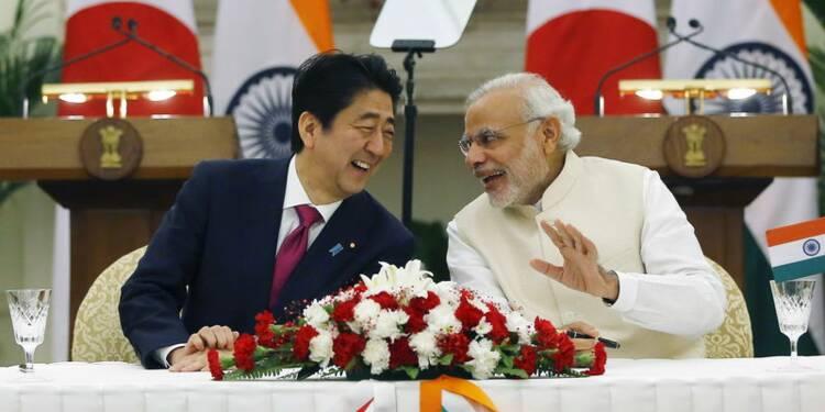 Les Japonais vont construire une ligne à grande vitesse en Inde