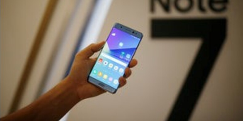 Samsung mis à l'épreuve face à la demande de Galaxy Note 7