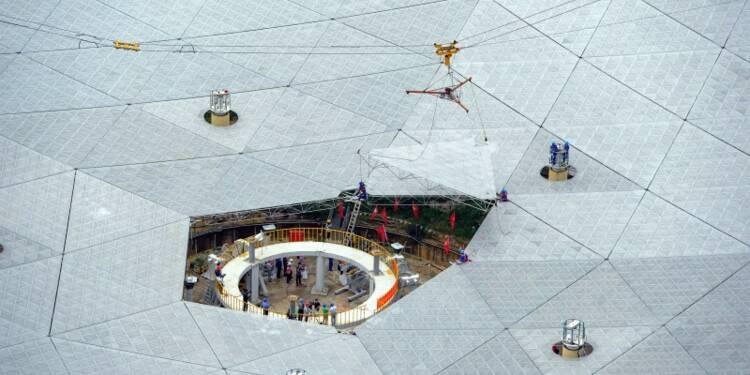 Avec son télescope géant Pékin veut traquer les extraterrestres