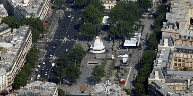 Place et station de métro République à Paris brièvement évacuées