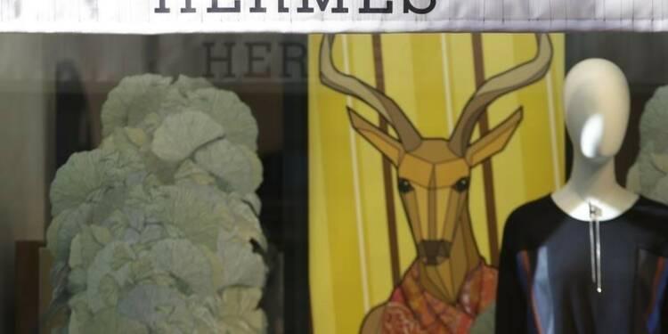 Hermès préserve sa croissance grâce à la maroquinerie