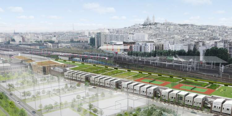 Découvrez cette gare géante qui va booster les livraisons à Paris