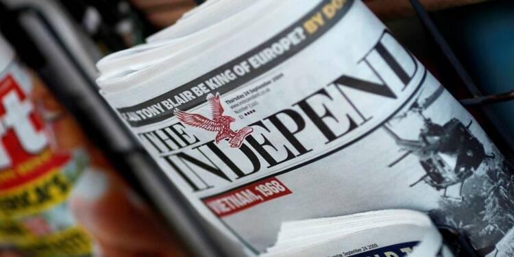 Le journal britannique Independent passe au tout numérique