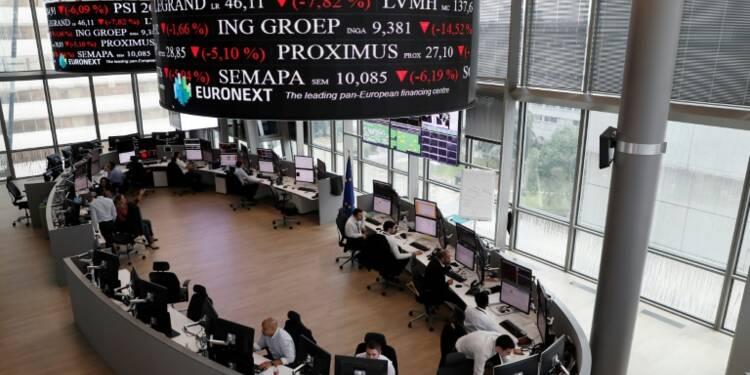 La Bourse de Paris finit en baisse de 0,34%