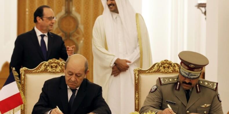 Le Drian veut vendre des frégates et des voitures blindés au Qatar
