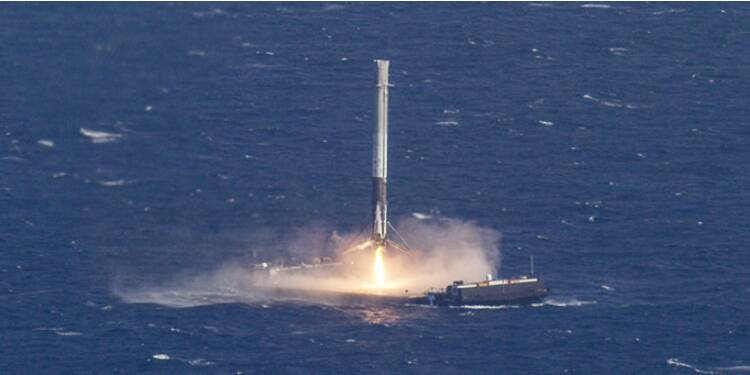 Elon Musk un peu plus près des étoiles avec sa fusée low cost