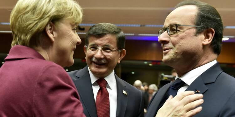 """UE et Turquie évoquent un """"nouveau départ"""""""