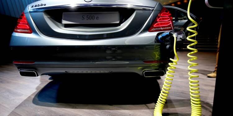 Daimler va présenter un modèle électrique longue distance