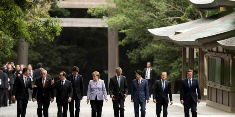 Croissance et réfugiés au menu du sommet du G7 au Japon