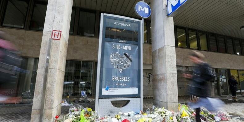 Réouverture de la station de métro Maelbeek à Bruxelles