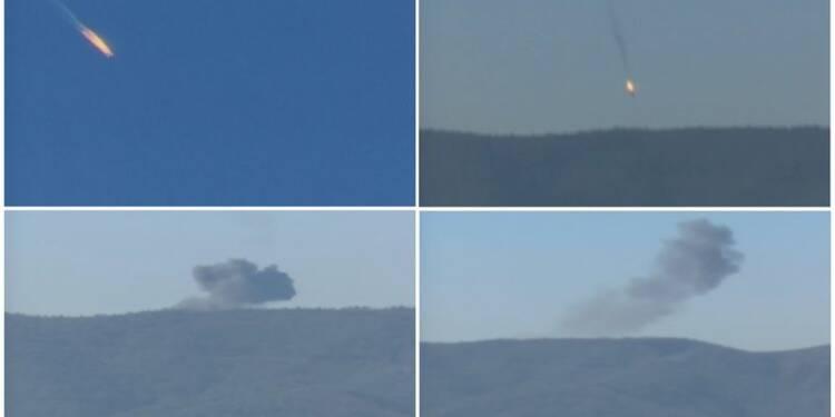 La chasse turque abat un avion russe à la frontière syrienne