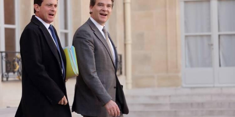 """Valls déplore la """"violence"""" de Montebourg, Hamon et Duflot"""