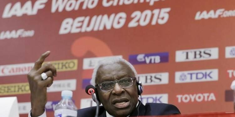 Lamine Diack considéré responsable de la corruption à l'IAAF