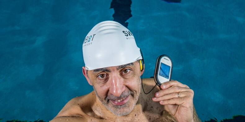 David Jamet : Il veut apprendre à nager à la terre entière