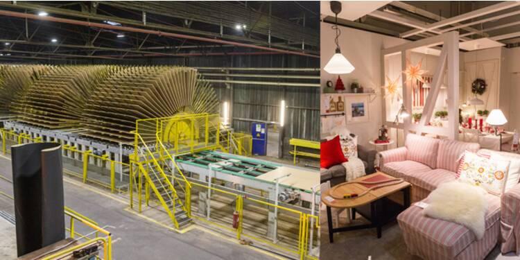bienvenue chez ikea les coulisses de l usine fran aise du g ant su dois du meuble en kit. Black Bedroom Furniture Sets. Home Design Ideas