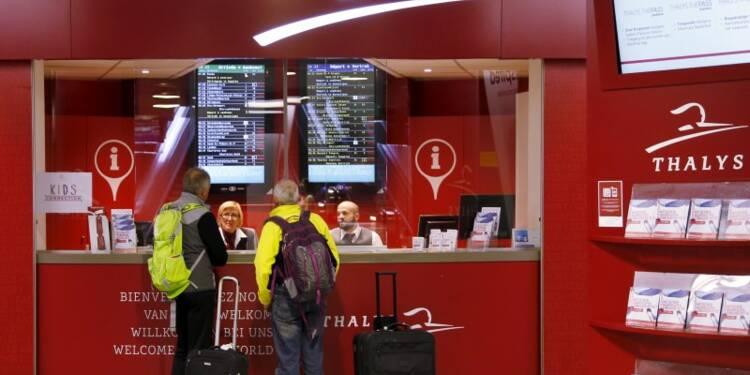 Ségolène Royal promet des portiques pour le Thalys dès le 20/12