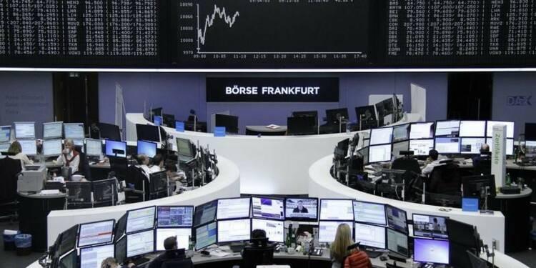 Les Bourses européennes progressent avec l'emploi aux USA