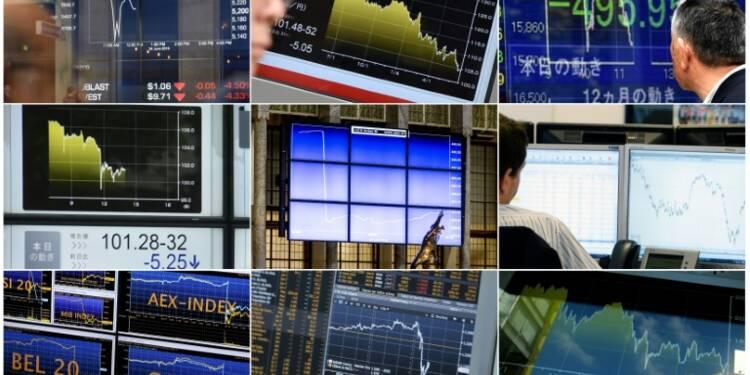 Le London Stock Exchange tombe dans le rouge au premier semestre