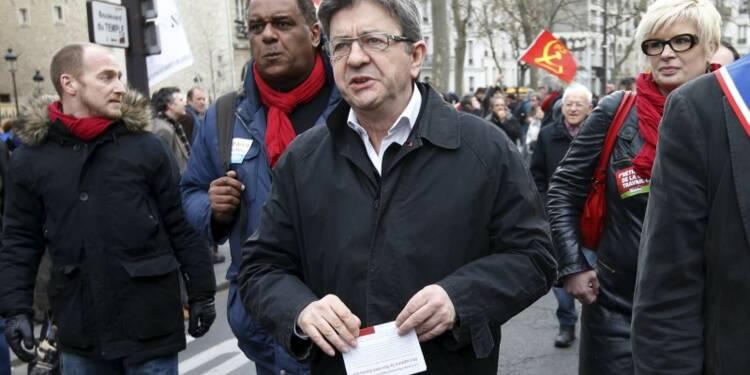 Mélenchon égalerait, voire dépasserait Hollande en 2017
