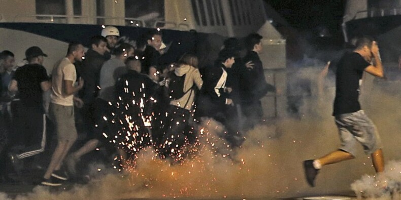 Peines de prison pour les supporters interpellés à Marseille