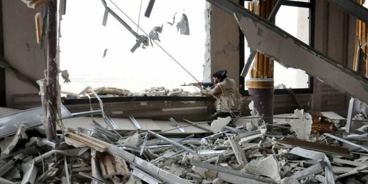 L'armée syrienne poursuit son opération reconquête de Palmyre