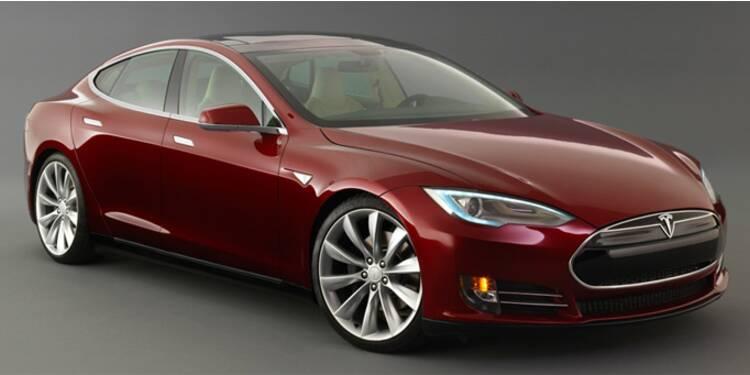 L'action Tesla Motors chute de plus de 10% à Wall Street