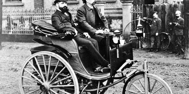 Tricycle Benz, 1886 : Moteur, on roule vers une ère nouvelle !