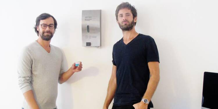 Damien Lambrecht et Simon Taglioni : Ils ont créé le kit «bonne haleine» au bureau