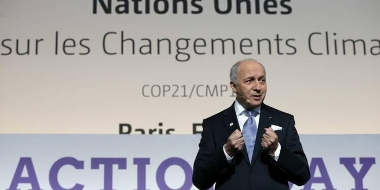 Fin du premier acte de la COP21, un projet d'accord à compléter