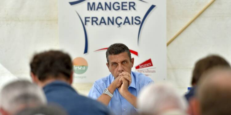 Agriculture française: la FNSEA prédit un déficit de 4 à 5 milliards d'euros en 2016