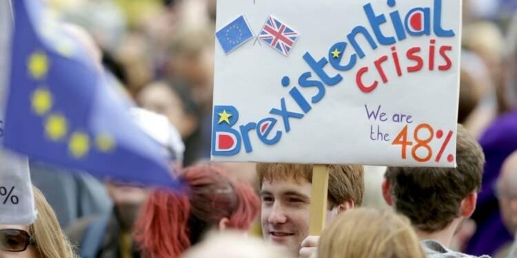 Plusieurs milliers de manifestants anti-Brexit à Londres