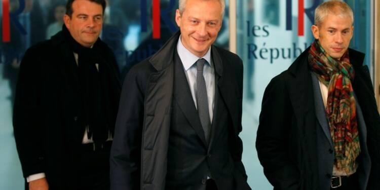 Bruno Le Maire officialise sa candidature à la primaire à droite