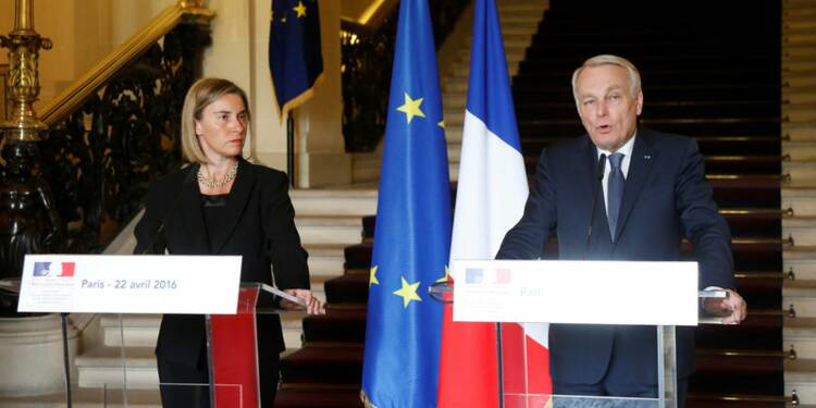 L'UE collabore avec Paris pour le processus sur le Proche-Orient