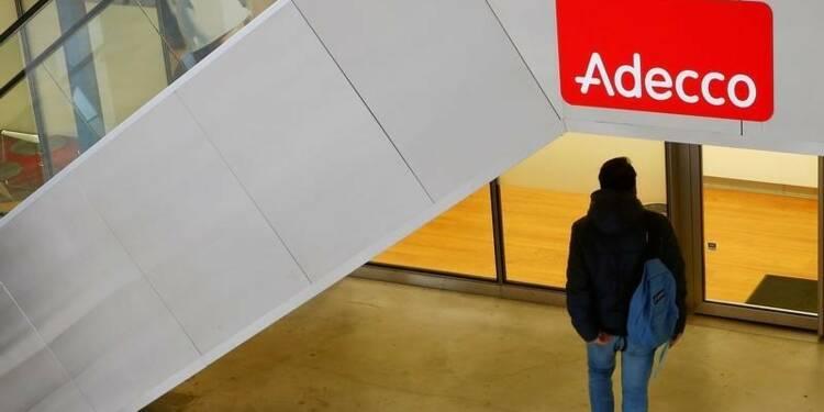 Bénéfice net d'Adecco grimpe de 7% au 2e trimestre