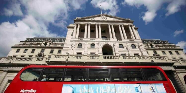 La Banque d'Angleterre toujours inquiète du Brexit