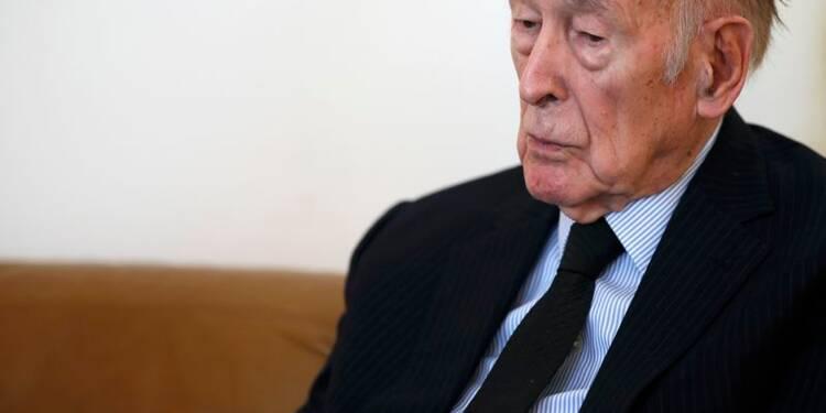 """Giscard veut une relance de l'intégration, pas d'un """"Brexit"""""""