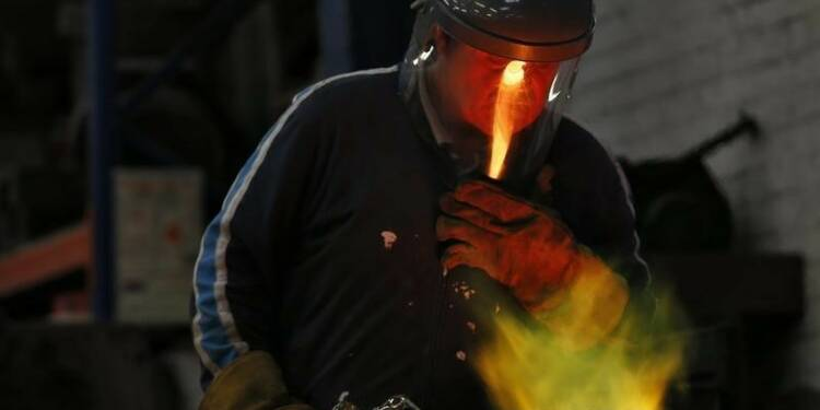 Bond inattendu de la production industrielle britannique