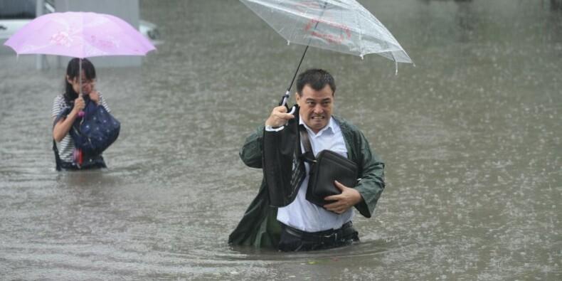 Nouvelles inondations en Chine, au moins 87 morts