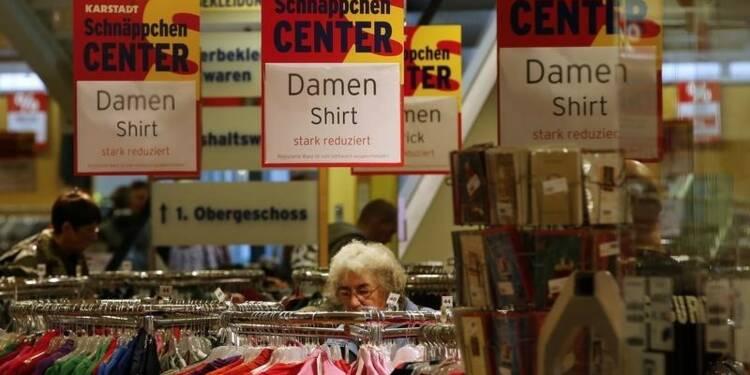 Baisse inattendue en Allemagne des ventes au détail